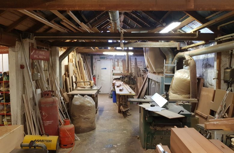Former Joinery Premises available through Oldfield Smith & Co